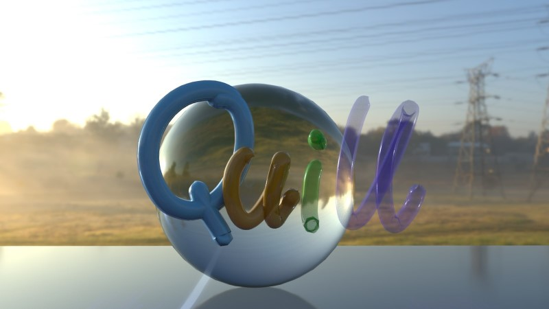 How to Render Quill with Opacity in Arnold